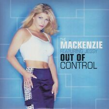 The Mackenzie feat. Jessy 2 track cd single Out Of Control 1999