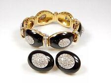 Schmucksets mit echten Diamanten & Edelsteinen aus mehrfarbigem Gold für Damen