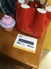 Dooney And Bourke Small Barlow In Persimmon NWT