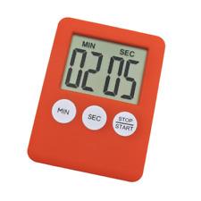 Digital Timer Square Large LCD Kitchen Sport Alarm With Magnet. 0145