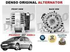 PARA PEUGEOT 307 2000 >> 1.4 1.6 FAMILIAR ORIGINAL DENSO Alternador Unidad 90amp