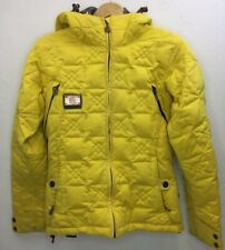 CAPP3L by Ride Snowboards Jacket Yellow Heavyweight Size Small Hooded