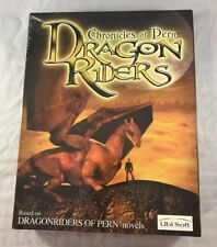 Chronicles of Pern Dragon Riders UBI Soft 2001 Windows PC Fantasy Adventure Game