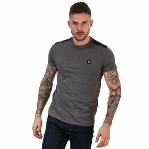 Men's Weekend Offender Escalante Short Sleeve Cotton T-Shirt in Grey
