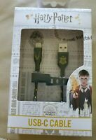 New Harry Potter 4 Foot USB-C Cable Nylon-Braided ATT Limited Edition Hogwarts