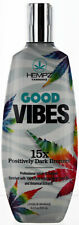 Hempz Good Vibes Tanning Lotion with Dark Bronzers