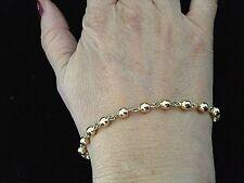 bracelet boules marseillais or 18 carats 750°/°°,  poids 5,80 grs, neuf
