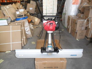 HONDA SURFACE FINISHING SCREED EASY SCREED CONCRETE incs 12FT BLADE 1 only £679