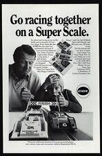 1973 COX Super Scale PORSCHE-MCLAREN Electric Race Car Set VINTAGE AD