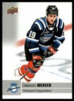 2019-20 Upper Deck CHL #6 Dawson Mercer