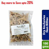 Buy Dry Anchovies Ikan Billies Seafood 100gms