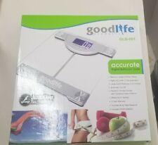 GoodLife Digital Bathroom Scale Tempered Glass 400  Lb New In Box GLB-001