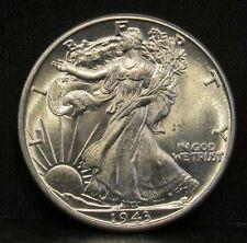 1943 Walking Liberty Half Dollar CH BU