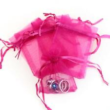 120pk PINK Drawstring Organza Jewelry Candy Pouch Wedding Favor Gift Bags 3x4