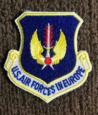 """3/"""" USAF Patch UNITED STATES AIR FORCES IN EUROPE in OCP with hook side backing"""