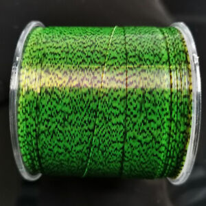 500m Fluorocarbon Coated Mono Fishing Line Invisible Camouflage Spotted Nylon