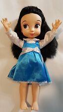 "Disney  Animators 16"" Inch Doll  Princess Snow White in Bell's Dress"