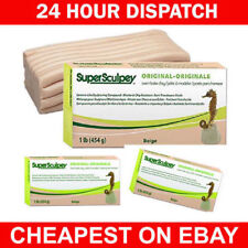 Super Sculpey Original Beige 1lb/454g - Buy 2 Get 1 free ADD 3 - BEST DEAL IN EU