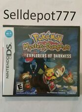 Brand New Pokemon Mystery Dungeon: Explorers of Darkness (Nintendo DS, 2008)