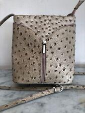 Small Full Genuine Leather BORSE IN PELLE Italian Shoulder Bag Stylish Women's