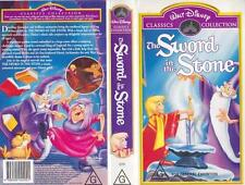 THE SWORD IN THE STONE WALT DISNEY ~  VIDEO PAL VHS A RARE FIND~