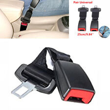"""2X 25CM 9.84"""" Car Seat Belt Extender Safety Buckle FOR Fat People Pregnant Women"""