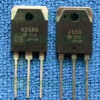 2PCS HITACHI 2SJ555 TO-3P Silicon P Channel MOS FET High