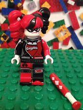 LEGO Batman Movie Harley Quinn Minifigure 70906 with skates and bat