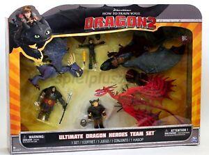 Dragon 2 Drachenzähmen leicht gemacht Spielset Drachen Figuren Drago Snotlout