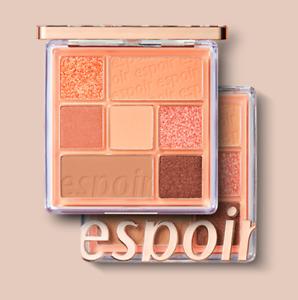 [Espoir] Real Eye Palette_Peach base_Glittering_ Peachy Like (7 colors)_7.1g