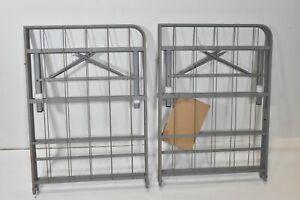 MANTUA PB46 Full Premium Platform Bed Base With Headboard Brackets