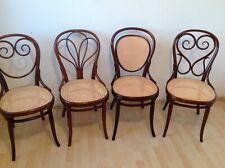 4 Original Thonet Stühle Nr.2 Nr.4 Nr.7Nr.25 um 1870 Erste Etikette