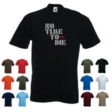 'No Time To Die' - 007 Men's Custom T-shirt