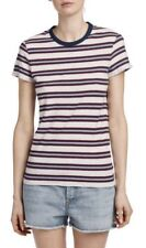 NWT $115 James Perse NORDSTROM Multi strip Tee Women's TOP  Striped Size 1