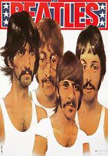 Original Vintage Poster The Beatles Rock Music Polish Swierzy 1985