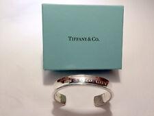 Tiffany & Co. Argento 1837 bracciale con scatola, garanzia e bustina in pelle