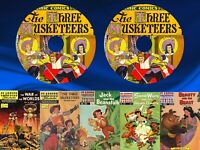 Classics Illustrated Comics & Classics Illustrated Junior 246 Issues on 2 DVDs