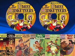 Classics Illustrated Comics & Classics Illustrated Junior 246 Issues on 2 DVDs