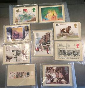 Post Office Postcard Mint Sets