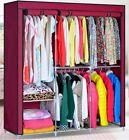 Portable Wardrobe Home Clothes Rack Shelves Closet Storage Organizer 63