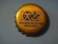 Old BEER Bottle Crown Cap ~*~ HACKER-PSCHORR Munchen Bier ~~ Since1417 ~ GERMANY