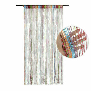 Door Window Hanging Beaded Decors Curtain String Summer Fly Insect Screen Tassel