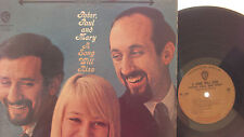 peter,paul & mary a song will rise lp on warner bros. records gold label