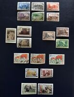 Russia 1950 - 1951 Collection Of Used/CTO Stamps 6 Full Sets