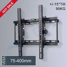 Tilt Flat LED LCD TV Wall Mount Bracket Samsung Sony LG Panasonic 32 42 46 50 55