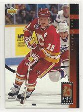 1993-94 Upper Deck Hockey - Hat Tricks - #HT3 - Gary Roberts - Flames