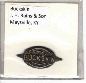 Tobacco Tag J. H. Rains & Son Maysville, KY. Buckskin