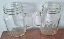 2 Bud Light ~ Lime-A-Rita 16 oz Embossed Mason Jar Glasses