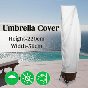 2 SIZE Outdoor Parasol Umbrella Cover Cantilever Garden Patio Shield
