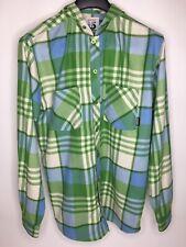 Men's Burton Columbo DRYRIDE Hooded Button Up Shirt •Size M *EUC